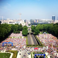 The Brussels 20km race takes you on a journey through Brussels most beautiful monuments and parks. Are you up for the challenge?