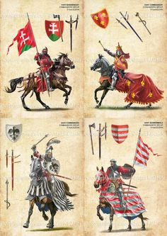 West european banners