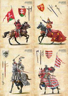 West european banners