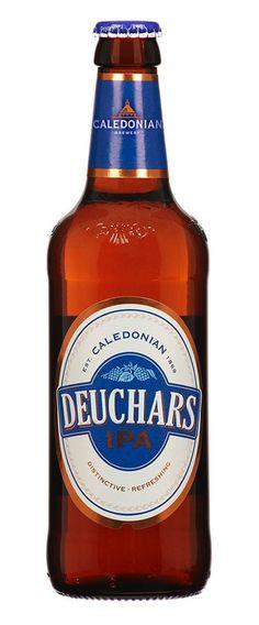 Deuchars IPA, India Pale Ale 4.4% ABV (The Caledonian Brewing Company Ltd, UK) [Micromalta]