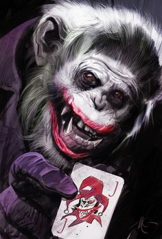 The Dark Knight Apes