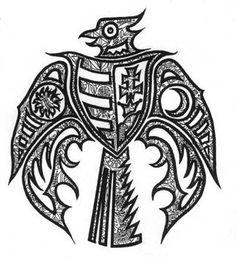 Bilderesultat for hungarian tattoos Hungarian Tattoo, Hungarian Embroidery, Body Art Tattoos, Tribal Tattoos, Cool Tattoos, Runic Writing, Hungary History, Metal Embossing, Bone Jewelry
