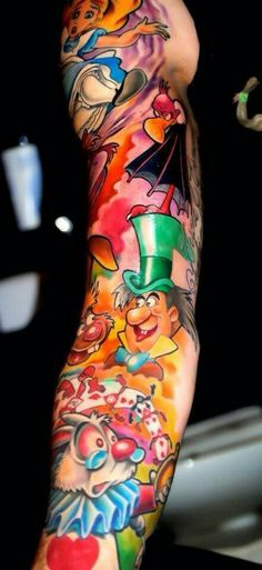 considering on Wonderland actually Crystalland sleeve (instead of just Cheshire Cat ) :)