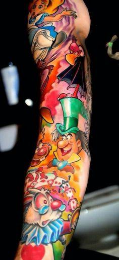 Disney tattoo @Lacie Norman St Pierre
