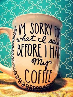 My kind of coffee cup!