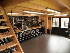 Although your garage is going to be your main workspace and hold all your equipm. - Although your garage is going to be your main workspace and hold all your equipment, there is not a - Pegboard Craft Room, Pegboard Garage, Garage Tool Storage, Garage Tools, Kitchen Pegboard, Ikea Pegboard, Painted Pegboard, Craft Rooms, Pegboard Display