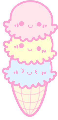 Kawaii icecream cone!