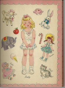 Judy & Jim PD book, 1947 by Hilda Miloche_p 1