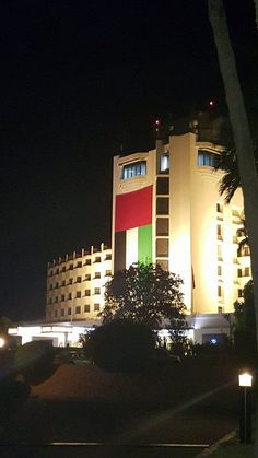 Thanks to Michala Saint for sharing this picture of our #JAJebelAliBeachHotel all decked out in the #UAE colours for the #SpiritOfTheUnion #UAE44 #NationalDay .