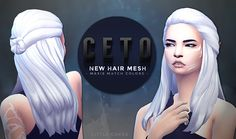 Lana CC Finds - CetoHair[LitttleCakes]