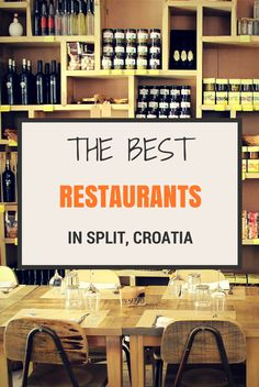 The best guide on eating out in Split, Croatia. We spend quite sometime over the year in Split, and know restaurants in Split in and out. On our blog you'll find a list of Split's restaurants worth trying out. Bon appétit! #ThisIsCroatia #FrankAboutCroatia  #split #splitcroatia #food #croatia