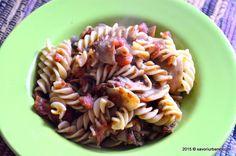 Paste-cu-ciuperci-si-rosii-Rina (10) Caesar Pasta Salads, Caesar Salad, Rina Diet, Paste, I Want To Eat, The Cure, Menu, Favorite Recipes, Lunch