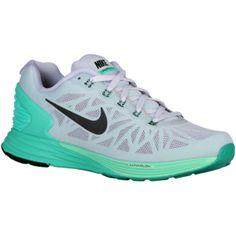 fd6acfc53775b Nike LunarGlide 6 - Women s - Titanium Menta Green Glow Black Nike  Lunarglide