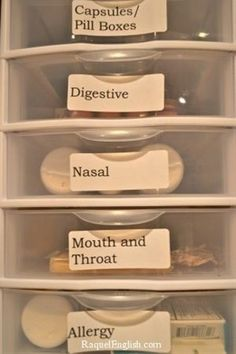Ship Shape: Organized Medicine Cabinet