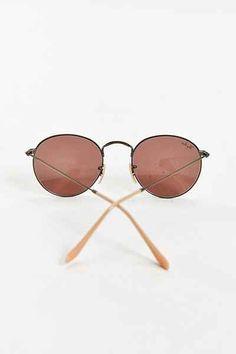 1d81e8992c5 Ray-Ban Bronze Round Sunglasses - Urban Outfitters Urban Outfitters  Sunglasses