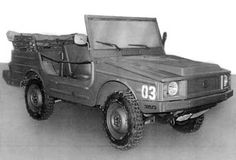 VW Iltis Prototyp 1977
