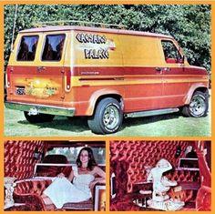 CUSTOM VAN Customised Vans, Custom Vans, Trucks And Girls, Big Trucks, 10 4 Good Buddy, Old Hot Rods, Old School Vans, Vanz, Day Van