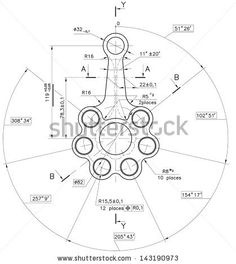 Find Design Technical Drawing Nonexistent Pistonrod Clipping stock images in HD and millions of other royalty-free stock photos, illustrations and vectors in the Shutterstock collection. Thousands of new, high-quality pictures added every day. Engineering Symbols, Mechanical Engineering Design, Mechanical Design, Autocad Isometric Drawing, Isometric Drawing Exercises, Blueprint Drawing, Drafting Drawing, Geometric Construction, Drawing Machine