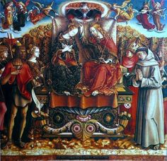 Carlo Crivelli Coronation of Mary, painting Authorized official website