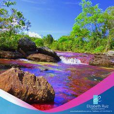 Nuestro país es hermoso! Rico en biodiversidad, paisajes espectaculares, gente hermosa, que orgullo ser Colombiana.  Foto de Caño Cristales (Meta)
