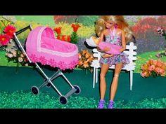 Como fazer um Carrinho de Bebê #2 para bonecas Monster High, Barbie, etc - YouTube