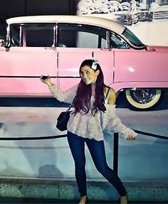 Flash-back rear Ariana Grande