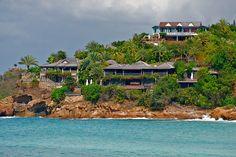 Giorgio Armani's home - Antigua
