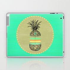 Sliced pineapple Laptop & iPad Skin by AmDuf - $25.00