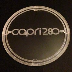 Classic Ford Capri 2.8i 280 Brooklands Drinks Coasters X2 Gift Set Mancave | eBay