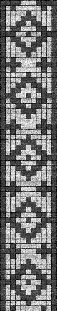 FREE PATTERN for tapestry crochet : Guarda pampa (pattern from Argentina) Tablet Weaving, Inkle Weaving, Inkle Loom, Card Weaving, Seed Bead Patterns, Peyote Patterns, Weaving Patterns, Cross Stitch Patterns, Tapestry Crochet Patterns