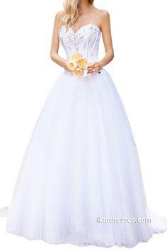 Women´s Organza Bridal Ball Gown Wedding Dress http://www.ikmdresses.com/Womens-Organza-Bridal-Ball-Gown-Wedding-Dress-p89073