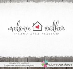 real estate logo logo design house logo home logo by autumnscreek