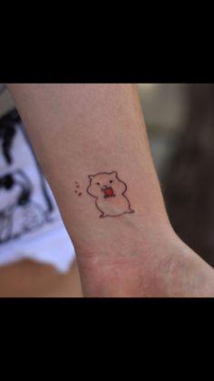 #tatuagem #tattooart #hamster  #minimalisttattoo