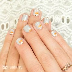 Fox Trot  Junior Nail Wraps for little fingers. My daughters LOVE these Fall wraps! I know that these are on their wishlist!