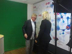 """Spot an! Für unseren Kunden: die """"Deutsche Stammzellspenderdatei (DSD)"""" und ihrem Geschäftsführer Heinz Robens! Mit ihm haben wir heute -- in unserem Filmstudio -- informative YouTube-Videos rundum die Stammzellspende gedreht! Ihr dürft gespannt sein. Vielen Dank an das gesamte Projektteam!"""