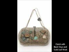 Meera Mahadevia's beautiful accessory collection on strandofsilk.com/! #indiandesigners #meeramahadevia #video #collection #accessories #indianclutches #indianaccessories #beautiful #strandofsilk #gorgeous