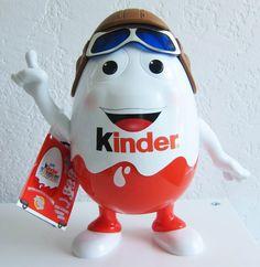-in USA- Kinder Surprise XXL Egg - Mr.Kinder - GIANT EGG -