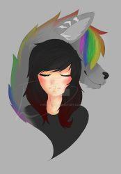 Wolf Girl by Wolf Girl, Disney Characters, Fictional Characters, Deviantart, Disney Princess, Artist, Anime, Artists, Cartoon Movies