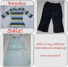 Leonora's blog: Bambu kläder på rea!