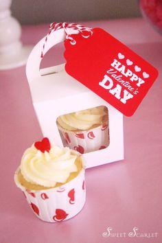 San Valentino tag favore stampabili, schede a favore & flag modificabili di paglia