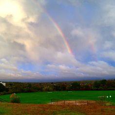 Rainbow over West Warwick, RI