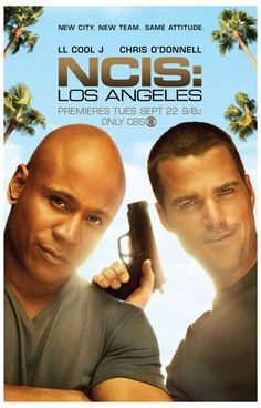 A great poster of LL Cool J and Chris O'Donnell, stars of NCIS: Los Angeles - The West Coast is the best coast! Ships fast. 11x17 inches. Need Poster Mounts..?