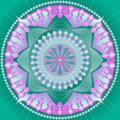 Reiki Healing Mandala by shoffman