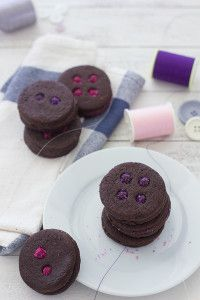 Chocolate-Button-Cookies