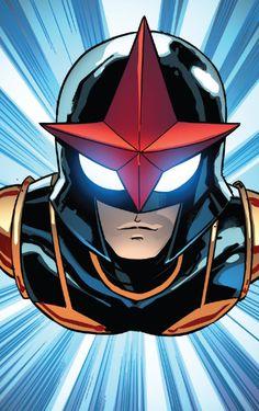 Nova in Spider-Man v2 #8 (2016) - Nico Leon colors: Marte Gracia