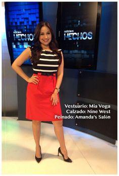 Look del día de @webbcarolina9 by Amandas Salon, Mia Voga y Nine West El Salvador #AsíSomosOnline #ElSalvador #Look #Moda #Belleza #RoxanaWebb #CélidaMagaña
