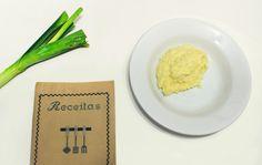 Receita deliciosa de purê de alho-poró!   alineando.com.br #receita #culinária #purê #alhoporó