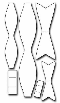 Patroon voor fondant