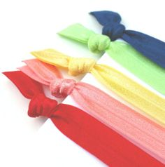 Amazon.com: 5 Fabric Headbands - Elastic Hair Bands By Preppy Pieces Hair Ties: Beauty #hair #hairband #hairtie #ponytail #preppy #rainbow #etsy #accessory