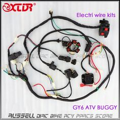 7b60ed964e6ae00b5f9d39010a3230c1 150cc go kart air filter products pinterest products Wiring Harness Diagram at edmiracle.co
